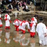 【御田植祭】2019大山祗神社の今年の御田植祭はいつ?開催時間は?一人角力って?