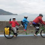 しまなみ海道を二人乗り自転車でサイクリングツアーの募集が開始