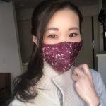 尾道の「美しすぎるハンドメイドアクセサリークリエーター」が手作りマスクの販売を開始