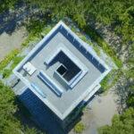 しまなみ海道の展望台。カフェがある展望台は唯一カレイ山展望台。