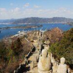 白滝山はきつい?亀老山よりきつい因島の白滝山。五百羅漢は登っただけの価値がある。